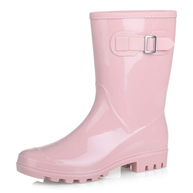 Резиновые сапоги женские Respect HF056 розовые 38 RU