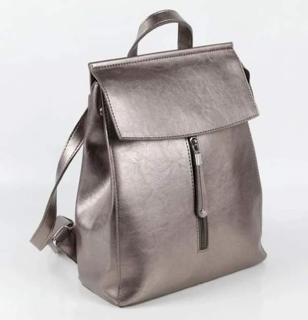 Сумка-рюкзак женская Fuzi house Р520 золотистая