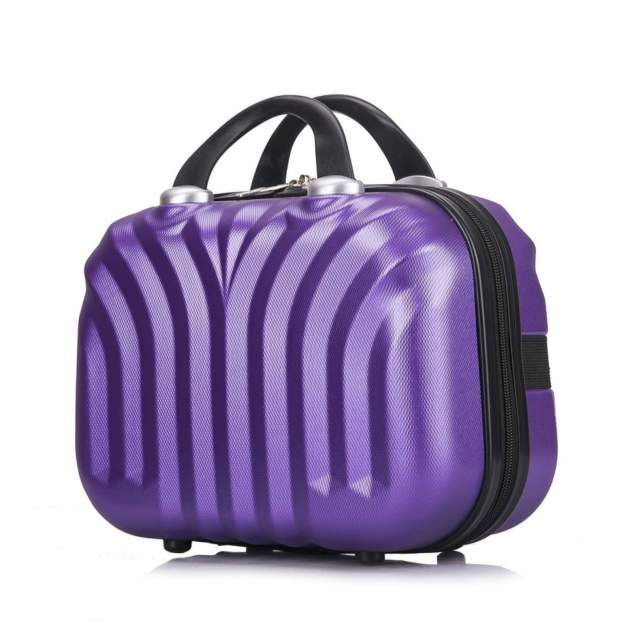Бьюти-кейс для косметики женский L'Case Phuket фиолетовый
