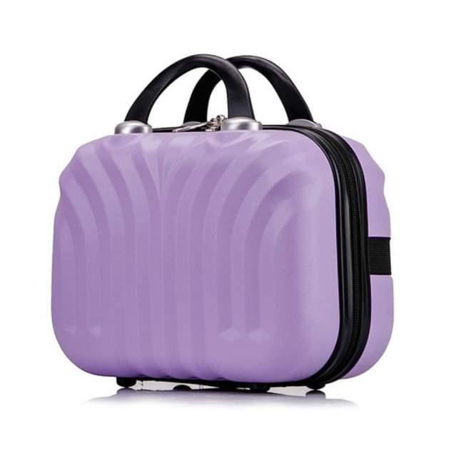 Бьюти-кейс для косметики женский L'Case Phuket лиловый