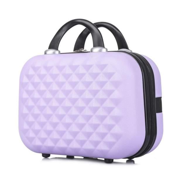 Бьюти-кейс для косметики женский L'Case Phatthaya фиолетовый