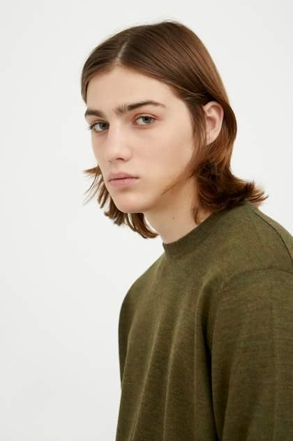 Джемпер мужской Finn Flare A20-21101 зеленый 2XL