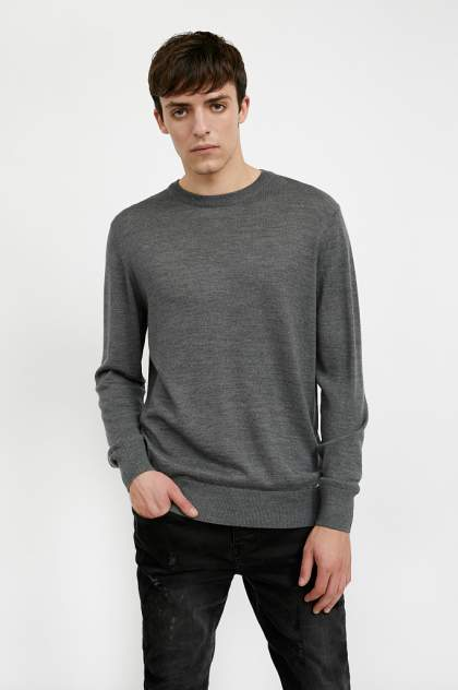 Джемпер мужской Finn Flare A20-21101 серый 3XL