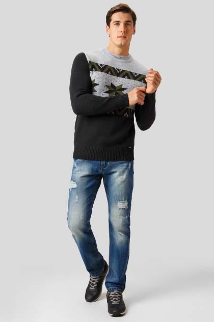 Джемпер мужской Finn Flare W18-22116 серый XL