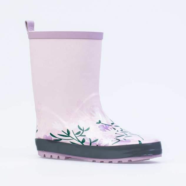 Резиновая обувь для девочек Котофей цв.розовый р.31