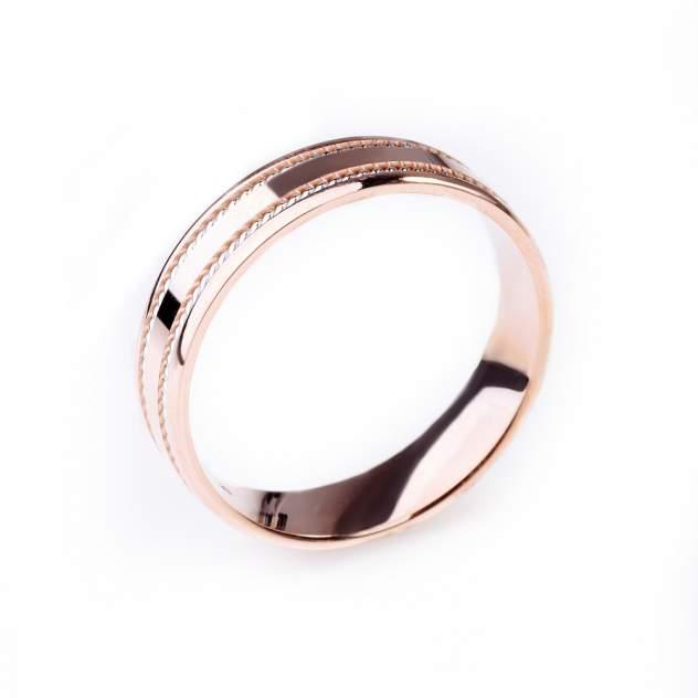Кольцо унисекс НАШЕ ЗОЛОТО 7ВЗТ4205 из золота, р. 19.5