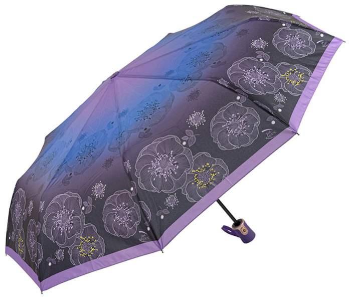 Зонт женский Rain Lucky 711-LCP фиолетовый