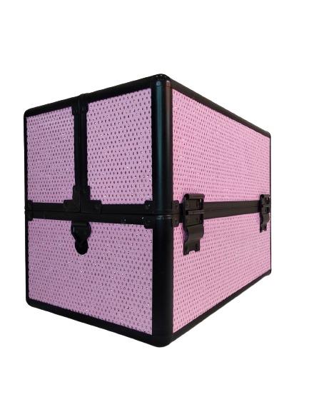 Бьюти-кейс для косметики OKIRO KС-238 розовый
