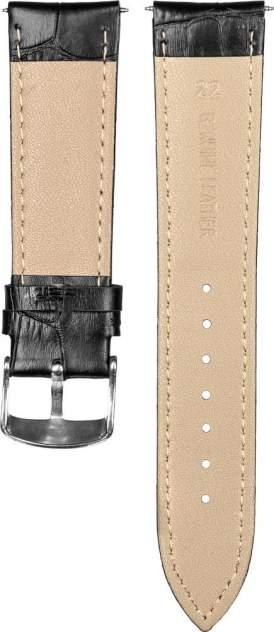 Ремешок для часов GSMIN Crocodile 22 для GearS3/GalaxyWatch(46mm) Черный