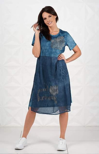 Женское платье MILANIKA F2098, бирюзовый