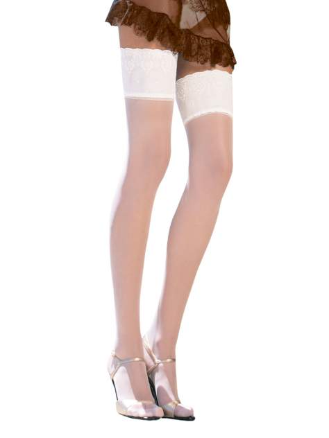 Чулки женские Trasparenze Diana (aut) 44-46 bianco (белые)