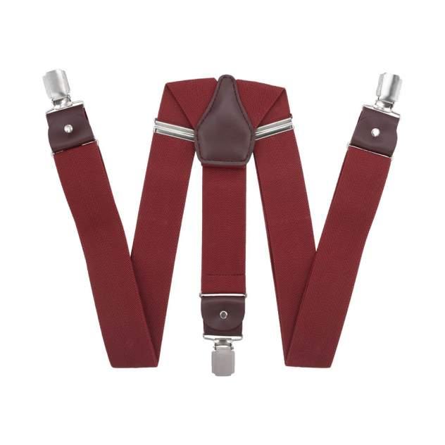 Подтяжки для брюк широкие 17-56403 красные