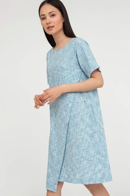 Платье женское Finn Flare S20-14028 синее XL