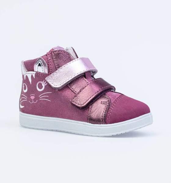 Ботинки для девочек Котофей, цв. фуксия, р-р 22
