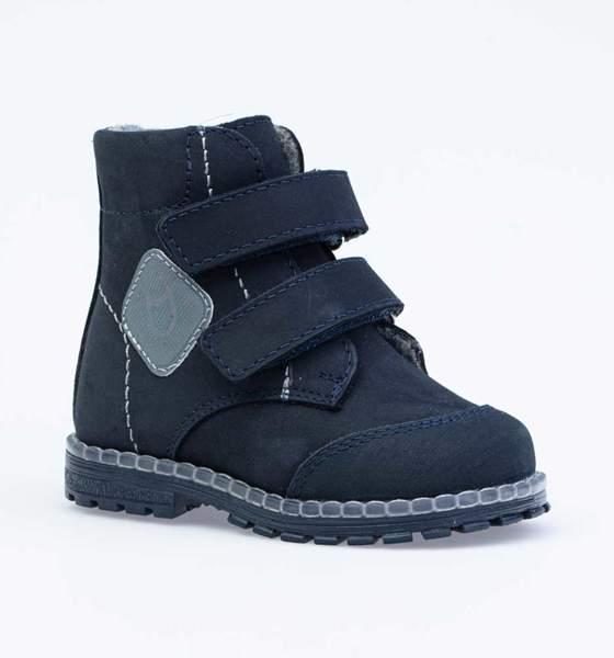 Ботинки для мальчиков Котофей, цв. синий, р-р 22 152252-34_22