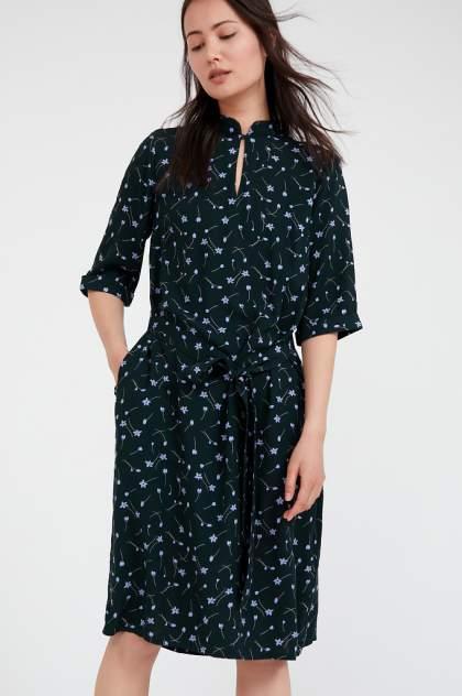 Платье женское Finn Flare S20-11040 зеленое 3XL