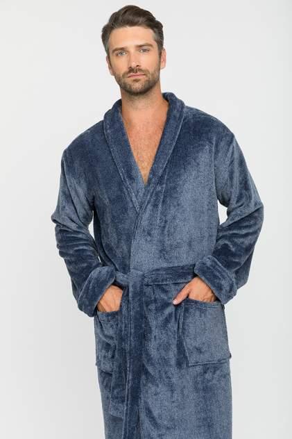 Домашний халат мужской Leger Peche Monnaie синий XL