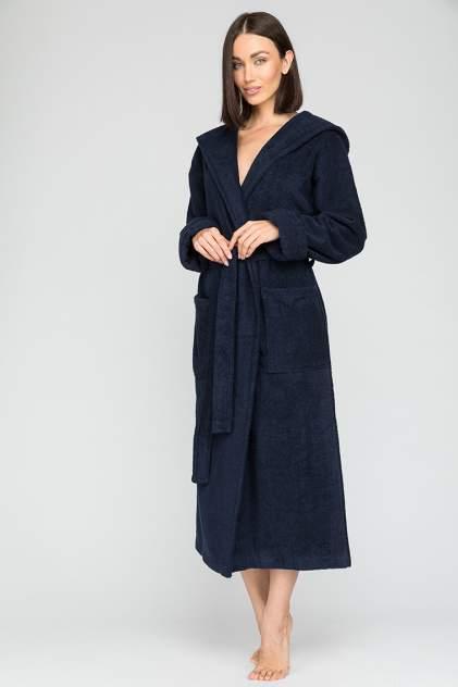 Домашний халат женский Sport&Style Woman EvaTeks синий S