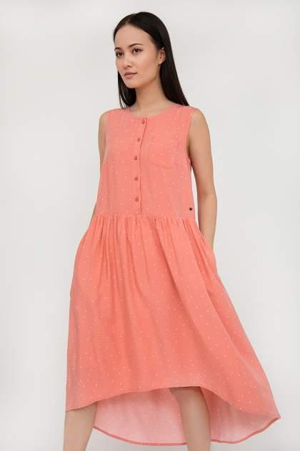 Платье женское Finn Flare S20-32029 розовое XL