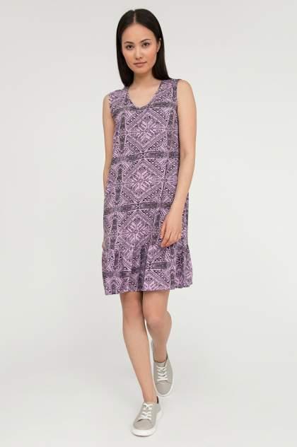 Женское платье Finn Flare S20-12080, фиолетовый