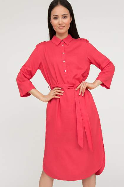Женское платье Finn Flare S20-11012, розовый
