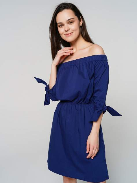 Повседневное платье женское ТВОЕ A6368 синее S