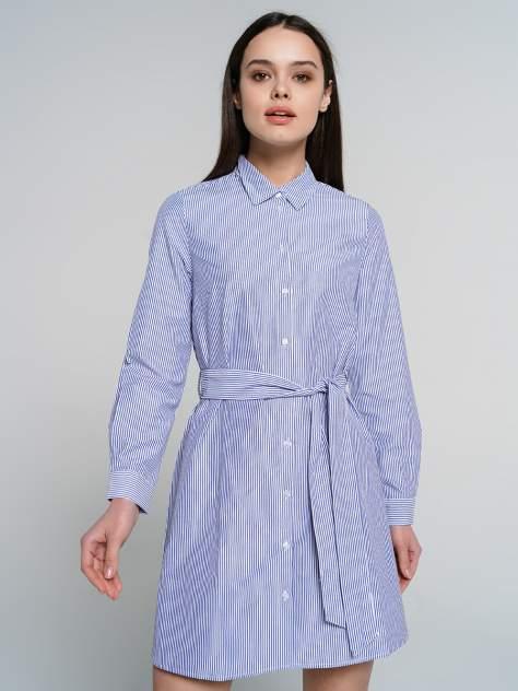Платье-рубашка женское ТВОЕ A7723 синее M