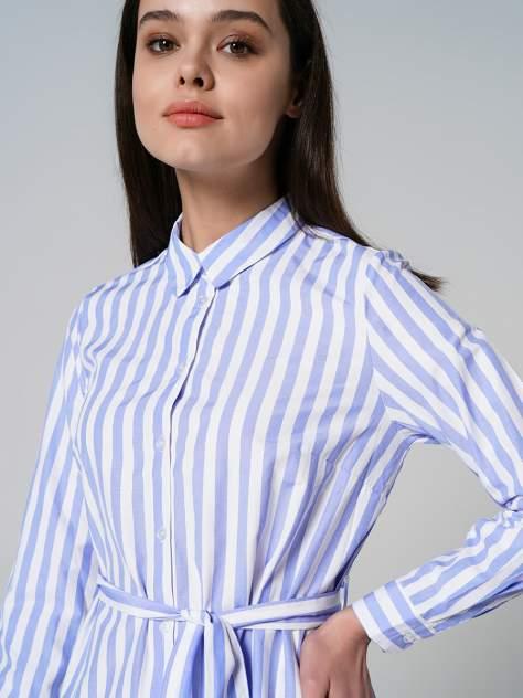 Платье-рубашка женское ТВОЕ A7723 голубое XS