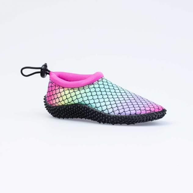 Пляжная обувь для девочек Котофей цв.разноцветный р.34