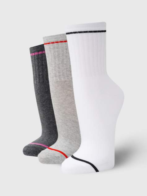 Набор носков женских ТВОЕ A7160 разноцветных ONE SIZE