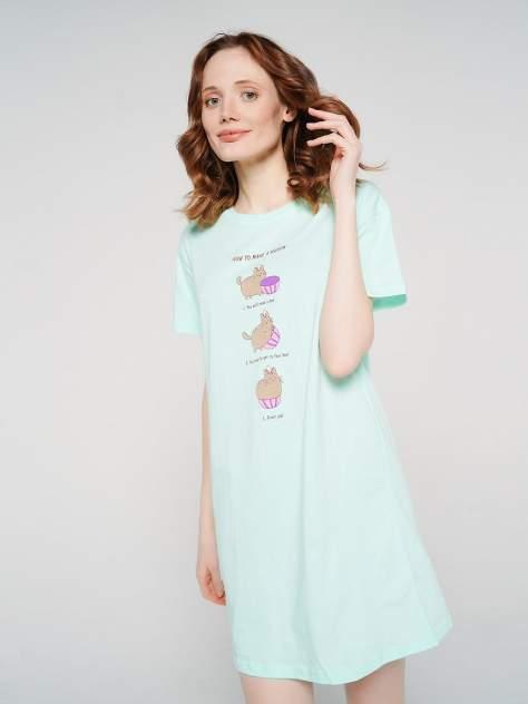 Ночная сорочка женская ТВОЕ 77411 зеленая XL
