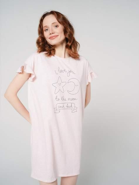Ночная сорочка женская ТВОЕ 77408 розовая M