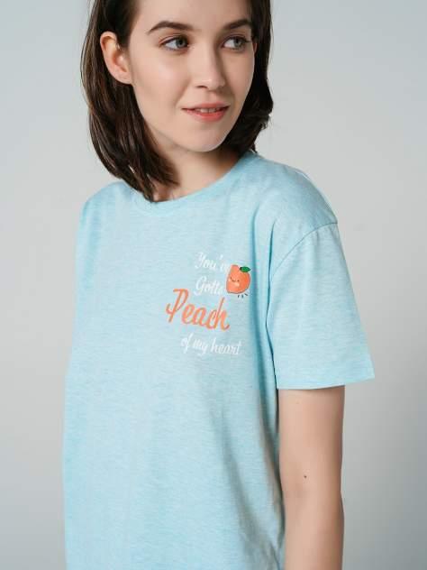 Ночная сорочка женская ТВОЕ 78499 бирюзовая L