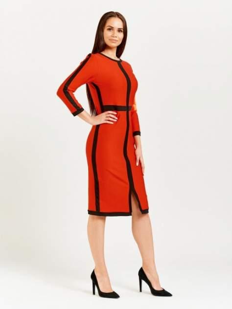 Женское платье DAZZLE STYLE Крест, красный