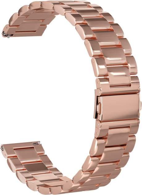 Ремешок для часов GSMIN Classic Collection 22 для GearS3/GalaxyWatch(46mm)Розовое золото