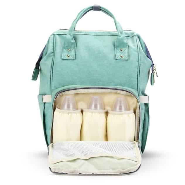 Рюкзак для мамы Baby Mo бирюзовый