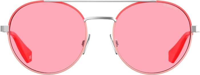 Солнцезащитные очки унисекс Polaroid PLD 6056/S розовые