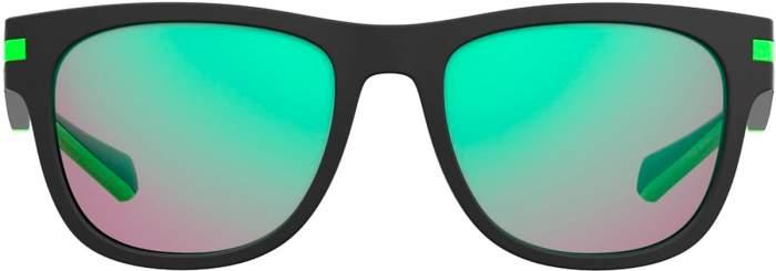 Солнцезащитные очки мужские Polaroid PLD 2065/S черные/разноцветные