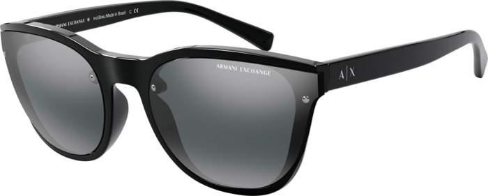 Солнцезащитные очки женские Emporio Armani EXCHANGE 0AX 4097S черные