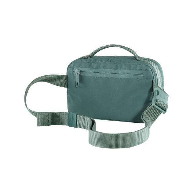 Сумка мужская на пояс Fjallraven Kanken Hip Pack F23796 зеленая 2 л