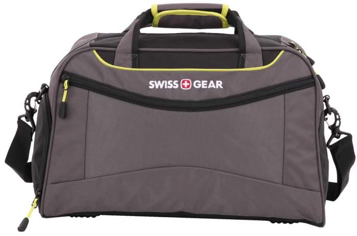 Сумка мужская Swissgear SA72614661 серая/салатовая 53 л