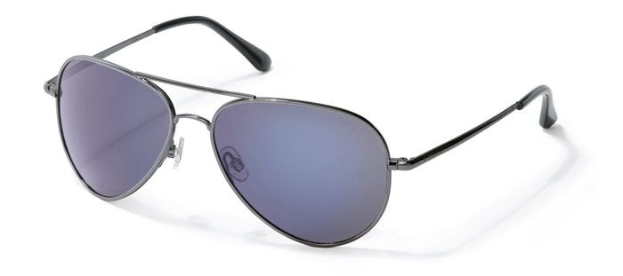 Солнцезащитные очки унисекс POLAROID P4139 серебристые