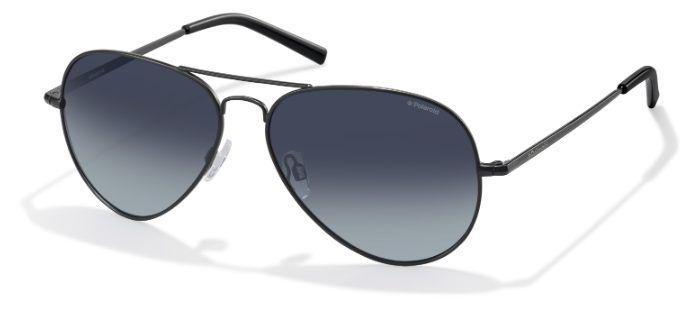 Солнцезащитные очки унисекс POLAROID PLD 1017/S черные