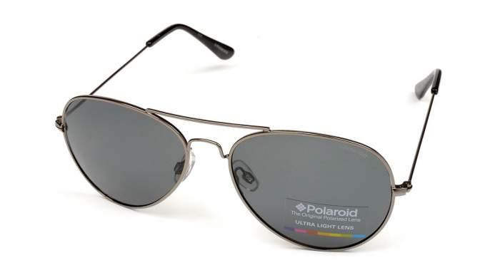 Солнцезащитные очки мужские POLAROID 04213C серебристые