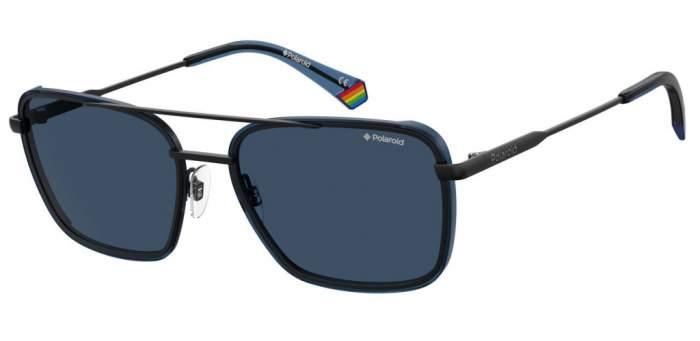 Солнцезащитные очки мужские POLAROID PLD 6115/S синие