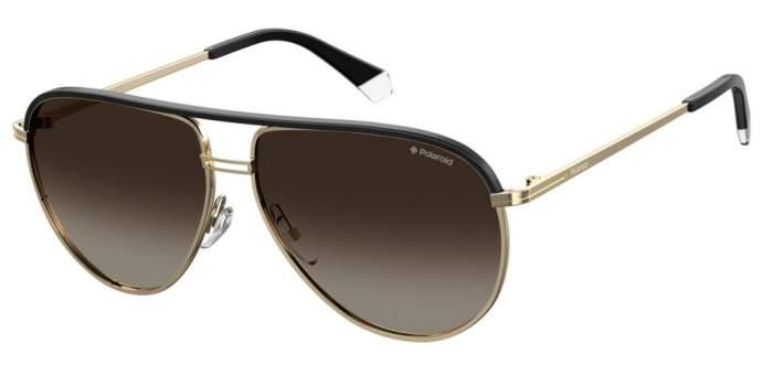 Солнцезащитные очки мужские POLAROID PLD 2089/S/X золотистые