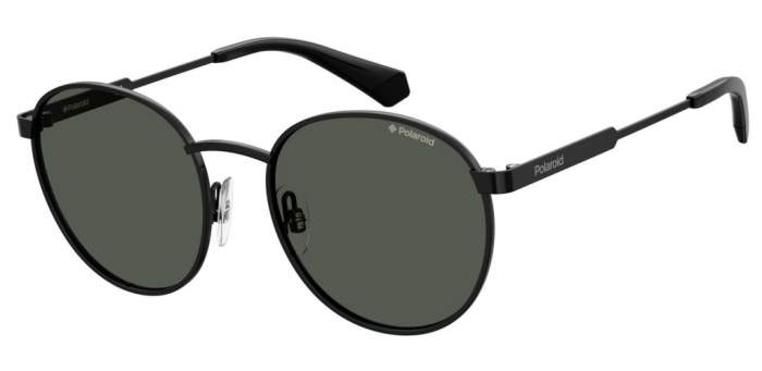 Солнцезащитные очки унисекс POLAROID PLD 8039/S черные