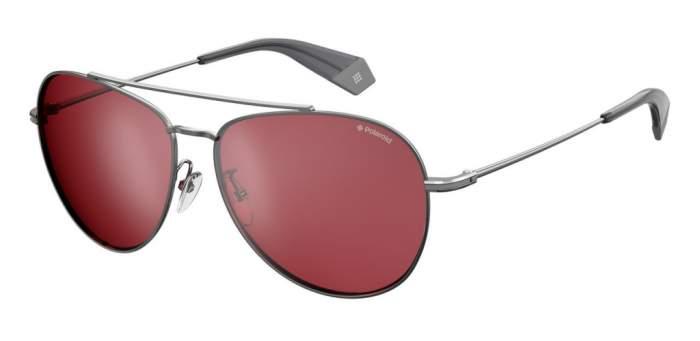 Солнцезащитные очки мужские POLAROID PLD 2083/G/S серебристые