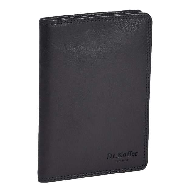 Обложка для паспорта Dr.Koffer X510130-245-04 черная