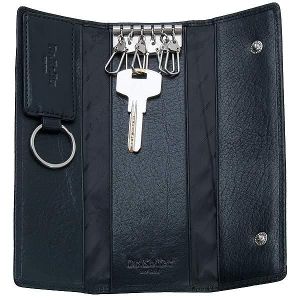Ключница мужская Dr.Koffer X510223-20-04 черная